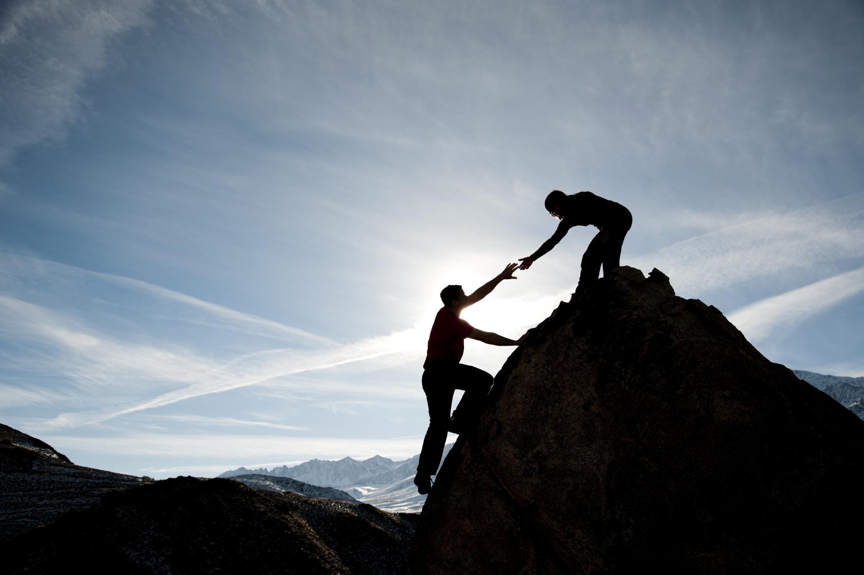 Team-Climbing